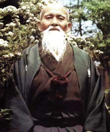 O Sensei Moriheï Ueshiba
