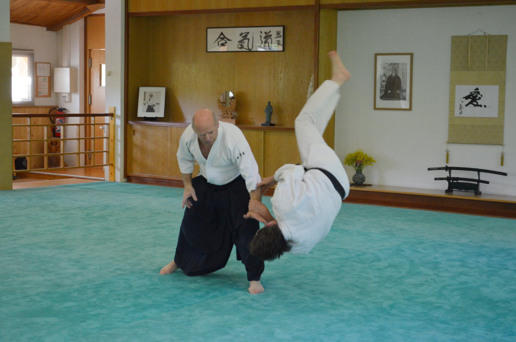 Kokyu nage (projection)